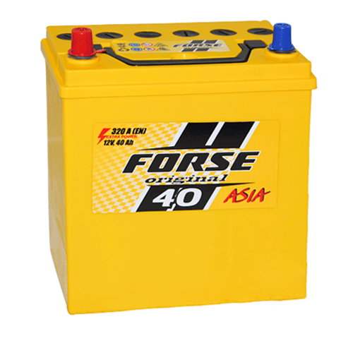 Forse 40 Aч 320A JP (+/-)