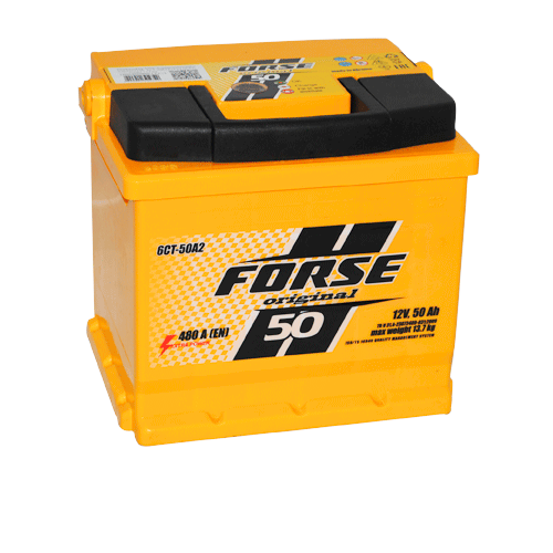 Forse 50 Ач 480А (-/+)