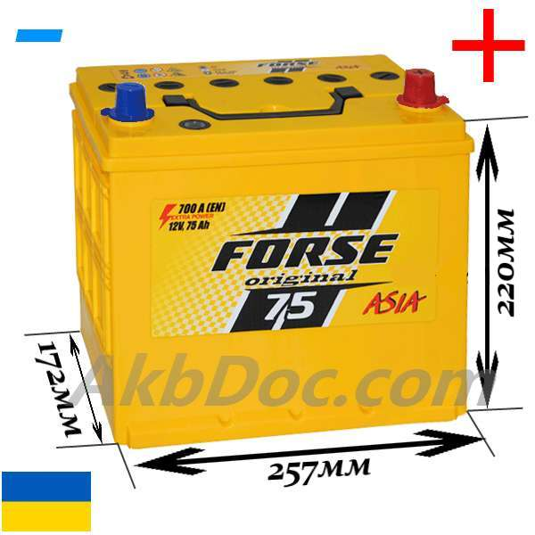 аккумулятор Forse JP 6CT-75A2 700A купить, аккумулятор Forse JP 6CT-75A2 700A цена, купить аккумулятор Forse JP 6CT-75A2 700A, азиатский аккумулятор Forse JP 6CT-75A2 700A, не дорого аккумулятор Forse JP 6CT-75A2 700A, Forse 75 Aч 700 A JP купить, Forse 75 Aч 700 A JP заказать, Forse 75 Aч 700 A JP укараина