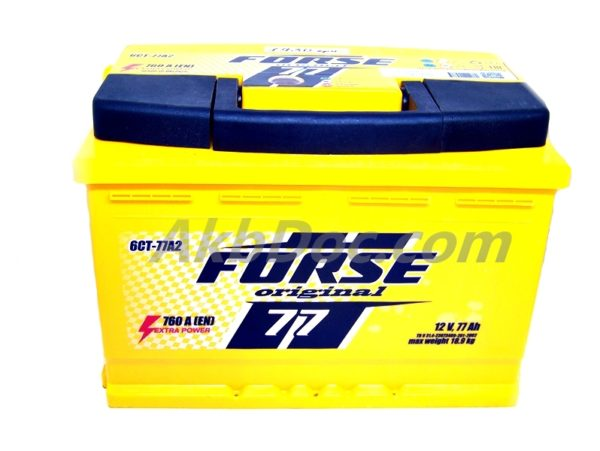 Forse 77 Aч 760A (-/+)