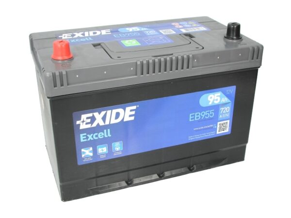 Exide 95 Ач 760А EXCELL / EB955 (+/-)